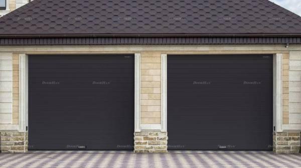 Cекционные ворота в гараж, 2400х2400: купить по цене ...