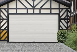 Секционные ворота в гараж, панель доска, 2900х1900: купить ...