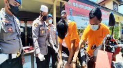 Komplotan Spesialis Rampok Nasabah Bank di Kalimantan Diringkus