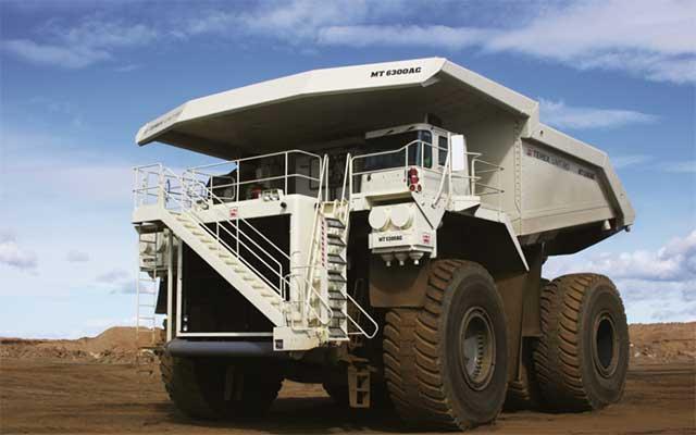 Mobil Truk Terex Unit Rig MT6300AC