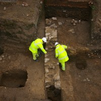 Restoration of fire-damaged 18th century factory reveals Roman building
