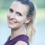 Ula Zawadzka ponytail polish american actress comedy