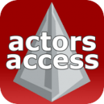 actors access logo