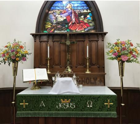 Union Lutheran Church Altar