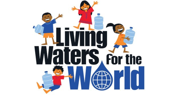 Logo for VBS program, Living Waters for the World