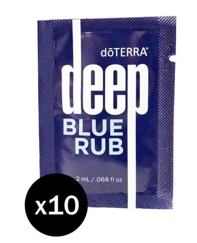 doTERRA Deep Blue pachete de probe de 10