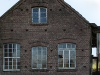Fenster der alten Zimmerei bei Reken