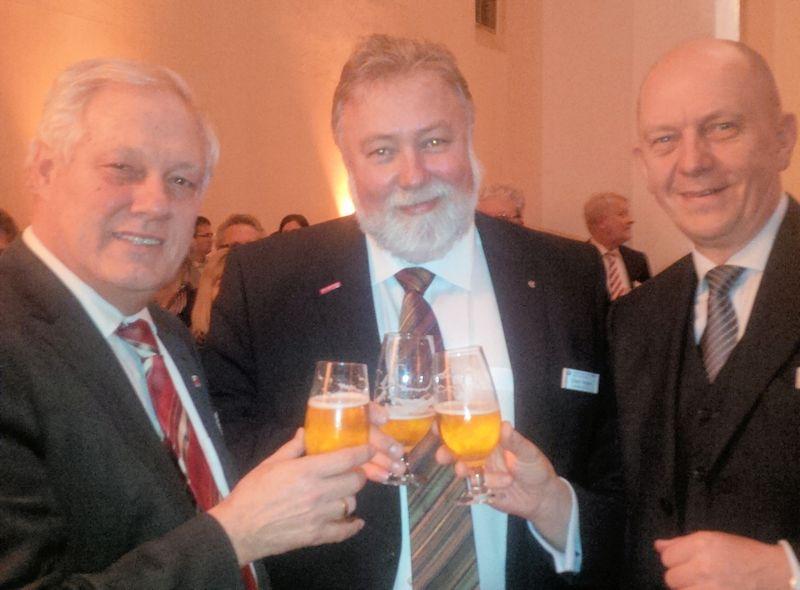 Neujahrsempfang der Brandenburgischen Kammern in FFO am 14.1.2014