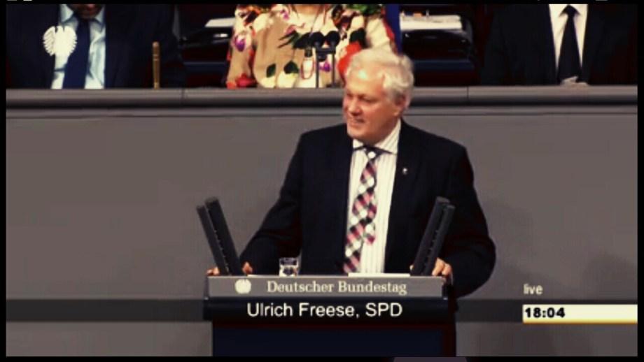 20141127 Bundestag 70Sitzung Haushalt Ulrich freese 1