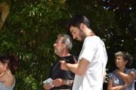 Antxon Iturriza en el homenaje a Josetxo Mayor