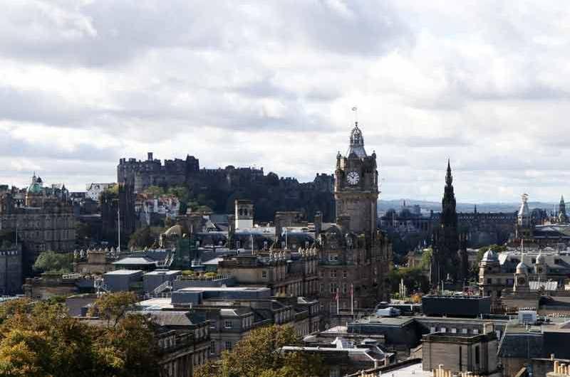 Древний город Эдинбург