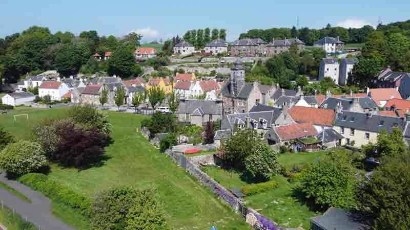 Калросс, Culross, Шотландия: мифы и легенды, погружение в историю