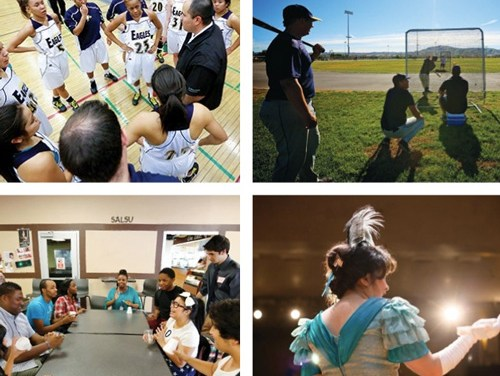 Clubs + Organizations + Teams + Traditions