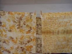 silk scarves/pañuelos de seda