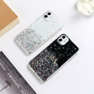 Glitter Case for iPhone 7 Case Bling Shell for iPhone XR 11 12 Pro XS Max 8 6 6S Plus X SE 2020 iphone12 Mini Soft Silicon Cover