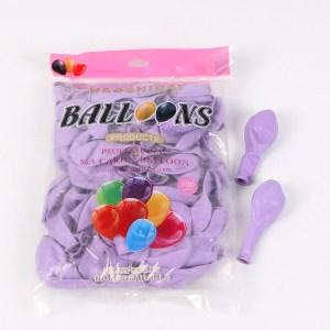 10 inch latex balloons Kenya Macaron 2.3 grams party
