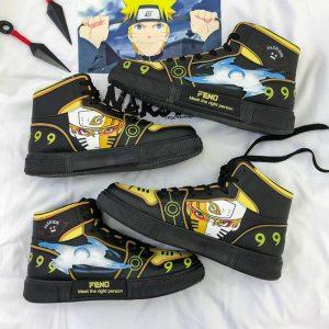 Unisex Naruto Shoes Anime Women Shoes Flats Hip Hop Fashion Clunky Sneakers For Women Vulcanize Shoes Sasuke Kakashi cosplay