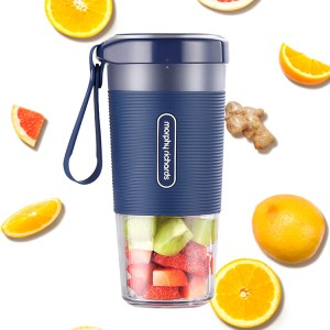 Mixer Juicer Machines-6 SUS304 Blade 13oz Mini Extractor 2000mAh USB Rechargeable Battery portable blender with 4 blades