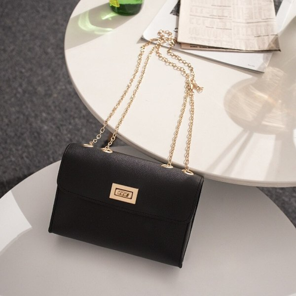 Leather Chain Mobile Phone Shoulder Women Bag