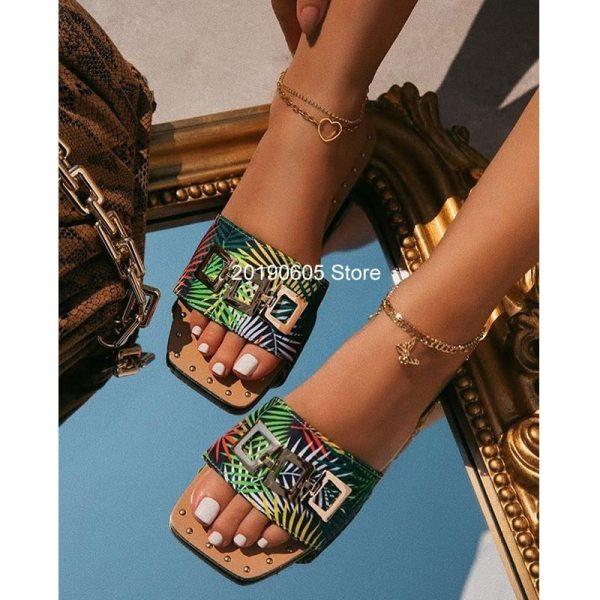 Women's Sandals Flat Open Toe