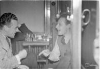 War correspondents at the Kämp