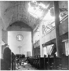 Lutheran church bombed in Helsinki Nov. 30