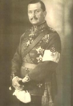 Marshal Mannerheim, Finnish Commander-in-chief