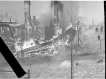 Bomb damage in Tampere
