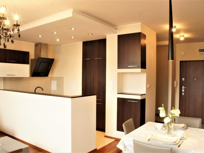 LUX apartment 2 bedrooms, 2 levels, Warsaw, Mokotow, Poland