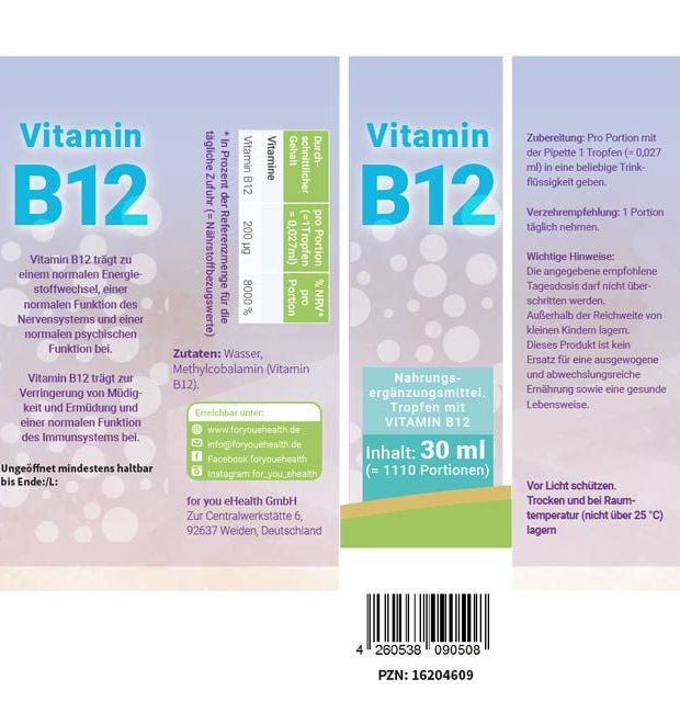 ullrichstore.com for you Vitamin B12 (flüssig)2