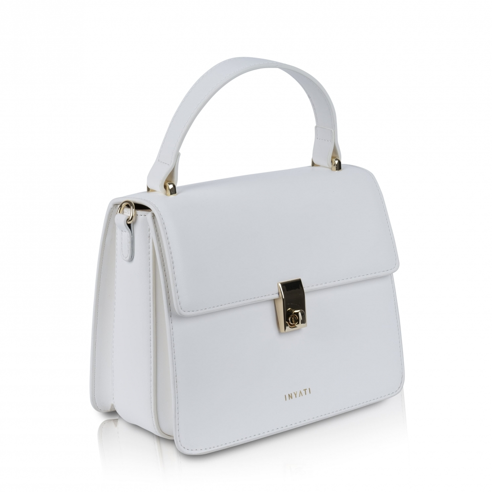 ullrichstore.com inyati Elody Top handle bag - white