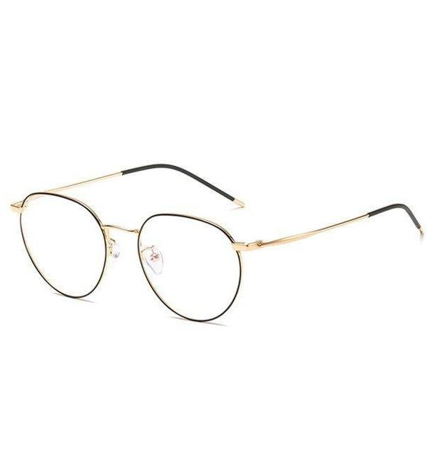 Blaulichtfilter Brille Gold ByLux London