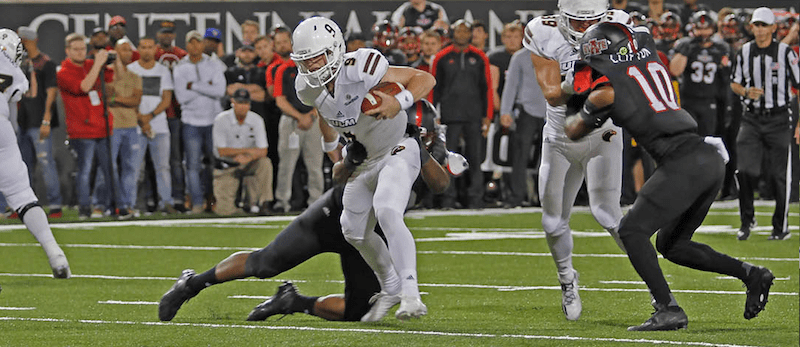 Warhawks trampled by pack of Red Wolves