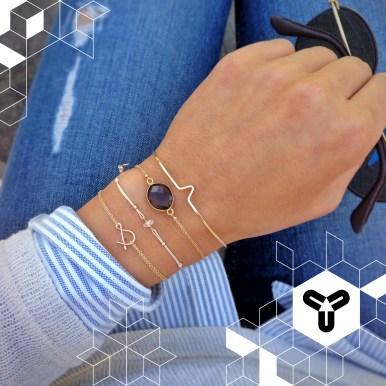 Aus verschiedenen Ideen, Stilelementen und Materialien zaubern Hanna & Matthias vom österreichischen Schmucklabel MAKAROjewelry stets neue und ganz persönliche Schmuckstücke, die die Damen-Herzen höher schlagen lassen. Wir sind verliebt... *seufz* Foto: MakaroJewelry; www.makarojewelry.at