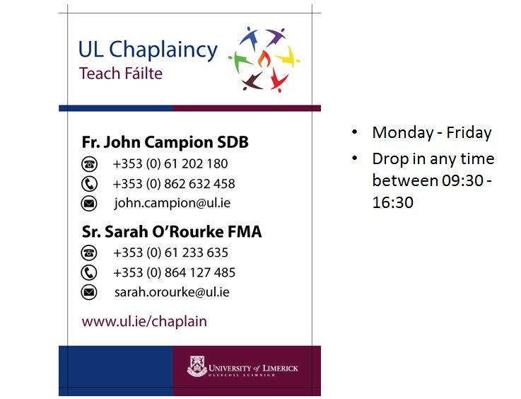 UL Chaplaincy