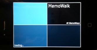 Memowalk-loading