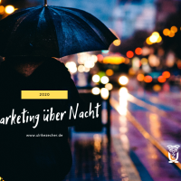 2020 – Marketing-Revolution im Schlafanzug :)