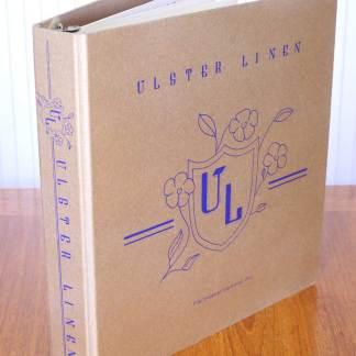 Linen Fabric Swatch Book