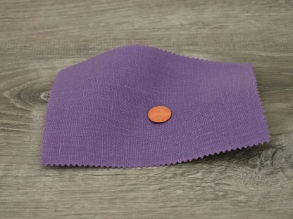 Medium Weight Dark Violet Linen fabric