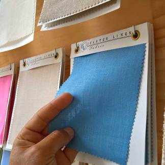 Linen Fabric Swatch Board