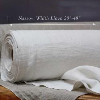 """Narrow Width Linen 20""""-48"""""""