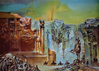 Cover for Gene Wolfe, The Claw of the Conciliator, (c) Bruce Pennington,