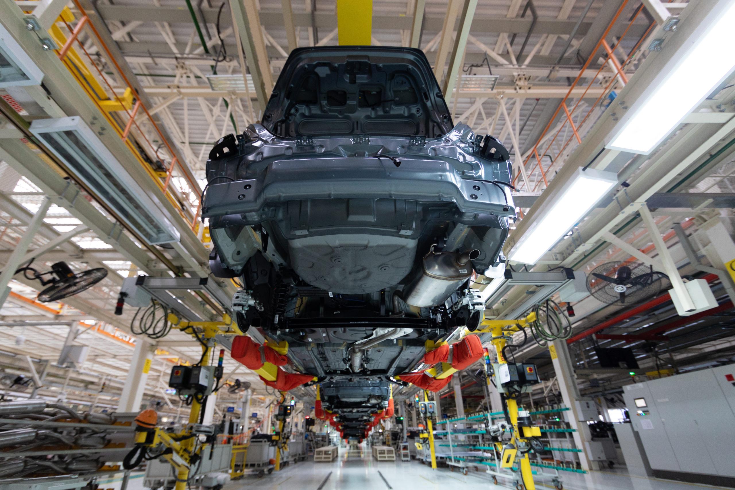 Soluciones OEE para la industria automotriz