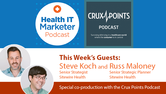 Steve Koch and Russ Maloney on the Health IT Marketer Podcast