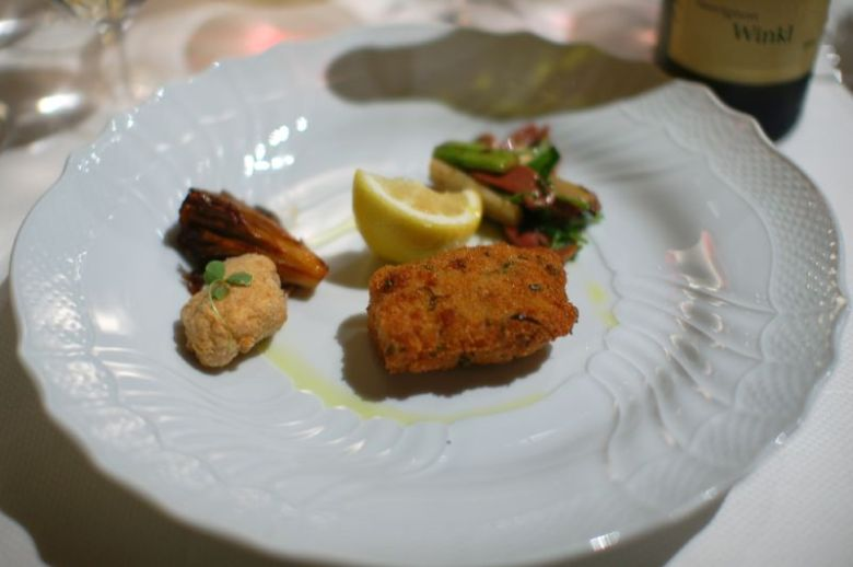 Veal Chop Milanese with Cotorni