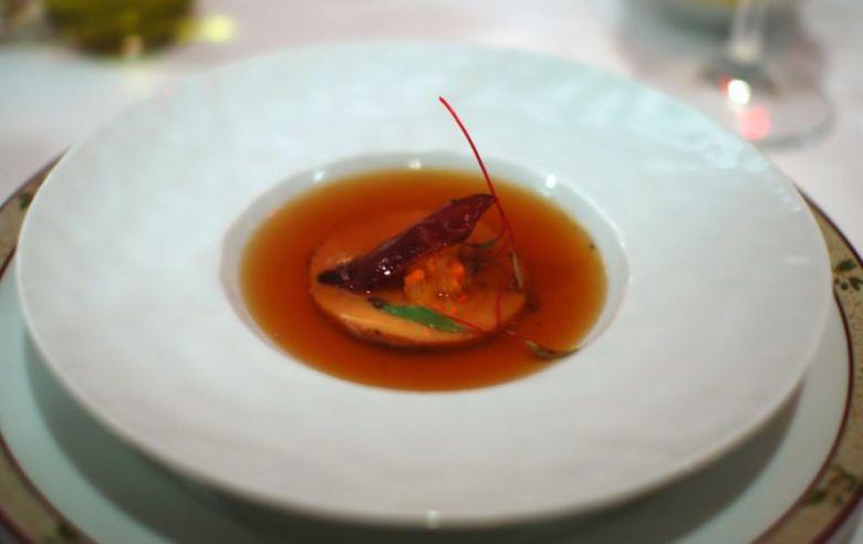 Foie Gras Shabu Shabu