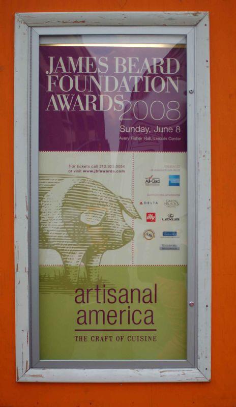 2008 James Beard Foundation Awards