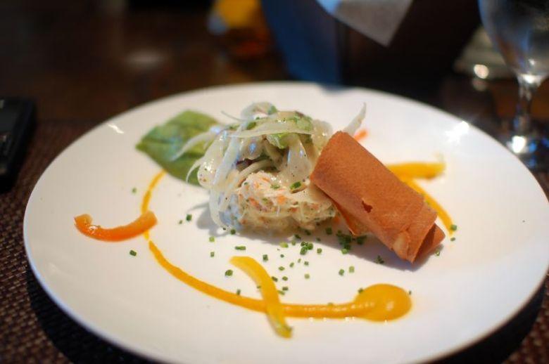 Lucian's Crab Salad