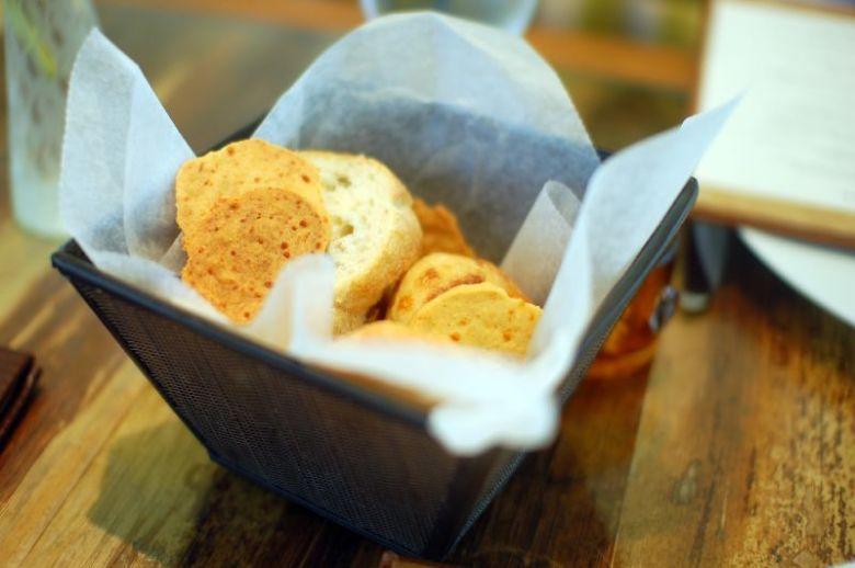 Cheese Shortbread Crackers