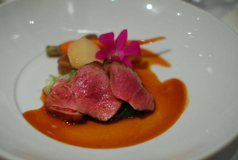 Grilled Long Island Duck Breast